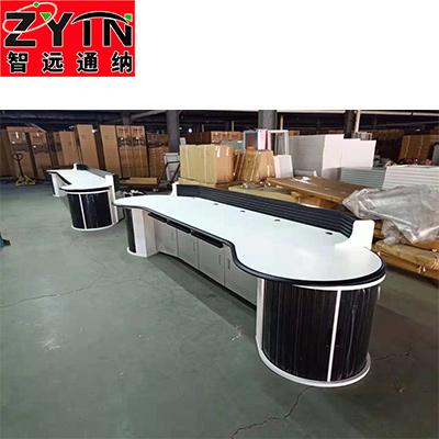 TN-0027 平面是钢木结构操作台