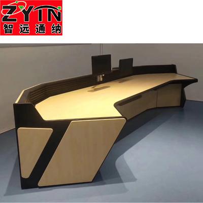 TN-0071 平面是钢木结构操作台
