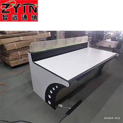 TN-0025 平面是钢木结构操作台