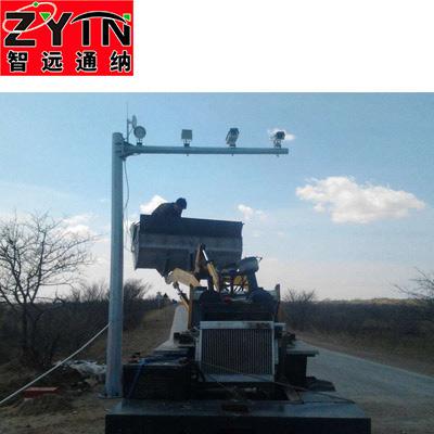 TN-BJ0002 电子警察八角监控立杆