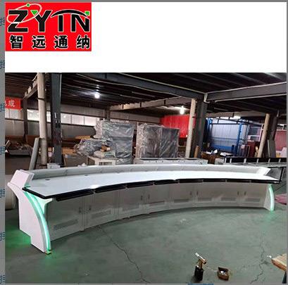 TN-0072 平面是钢木结构操作台