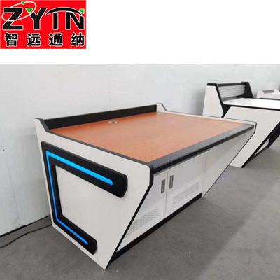 TN-0083 平面是钢木结构操作台