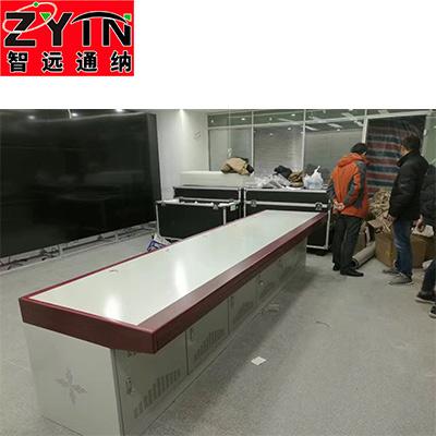 TN-0045 平面是钢木结构操作台