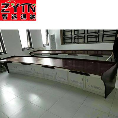 TN-0056 平面是钢木结构操作台
