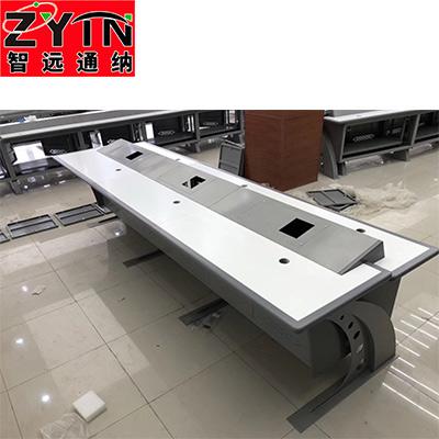 TN-0065 平面是钢木结构操作台