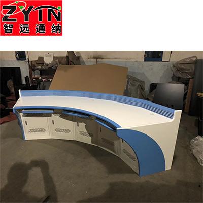 TN-0066 平面是钢木结构操作台