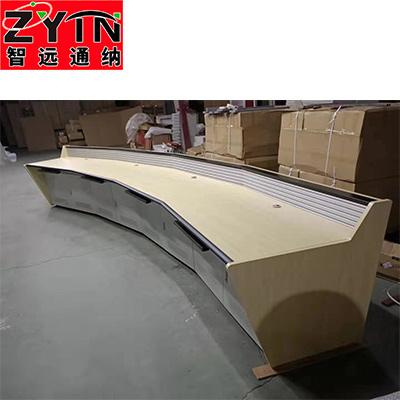 TN-0039 平面是钢木结构操作台