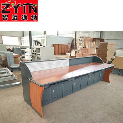 TN-0058 平面是钢木结构操作台