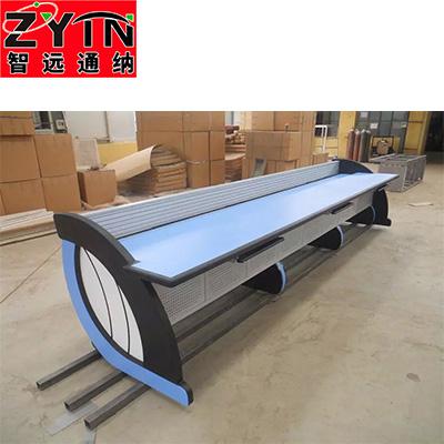 TN-0068 平面是钢木结构操作台