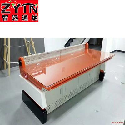TN-0057 平面是钢木结构操作台